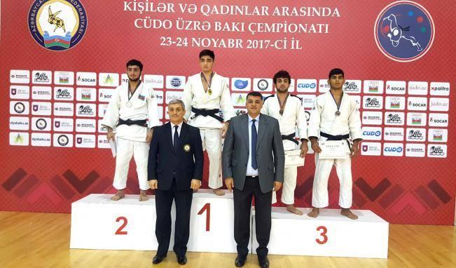 Azərbaycan cüdoçuları Avropa Kubokunu 6 medalla başa vurub